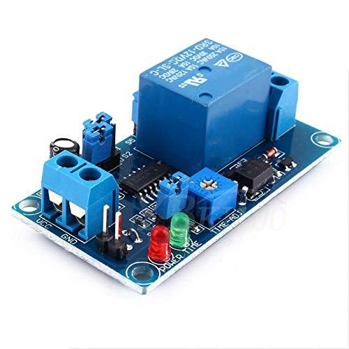 Walfront 12 V CC Normalmente Abierto Relé De Retardo Retardo de Apagado Interruptor Circuito Controlador Placa de Módulo con Temporizador