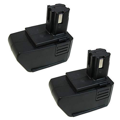 2x Hochleistungs Ni-Mh Akku 9,6V / 3300mAh für Hilti SF100 SF100A SFB105 SB10 Hilti SF-100 SF-100A SFB-105 SB-10 BD2000 ersetzt SBP10 265605 315078 334584 SPB105
