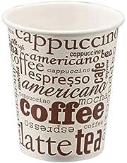 TELEVASO - 1000 uds - Vaso de cartón para café Vending - Capacidad de 200 ml (7 oz) - Ideal para Bebidas Calientes como café, té, Leche, infusiones