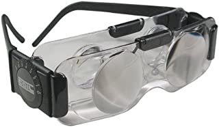 Coil 2X TV Spectacles Ophthalmic Vision Hands Free Binoculars Clear Lens