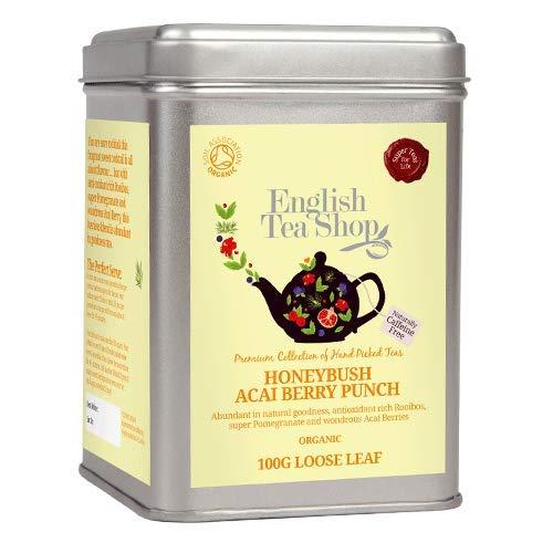 English Tea Shop - Honeybush Acai Berry Punch, BIO, Loser Tee, 100g Dose