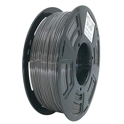 Stronghero3D Desktop FDM 3D Printer Filament PETG Grey 1.75 mm 1 kg (2.2 lbs) Dimension Accuracy of +/- 0.05 mm