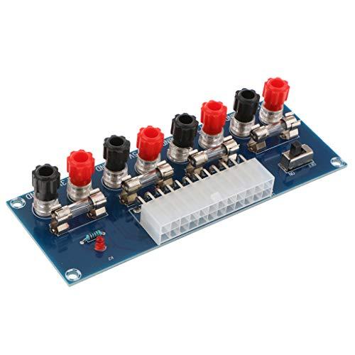 perfk 1 Stück 24 Pins ATX-Tischplatine Für Computer-Netzteil Breakout-Adapter