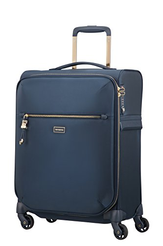 SAMSONITE Karissa Biz - Spinner 55/20 Hand Luggage, 55 cm, 42 liters, Blue (Dark Navy)