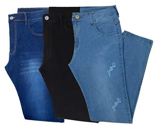 Kit 3 Calça Jeans Masculina Original (44)