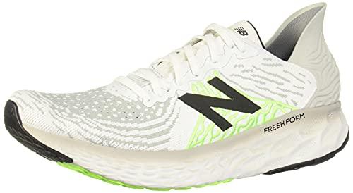New Balance Men's Fresh Foam 1080 V10 Running Shoe, Light Aluminum/White, 10