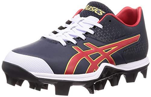 [アシックス] 野球 スパイク スタッド JAPAN SPEED ピーコート/レッド 27.0 cm 2.5E