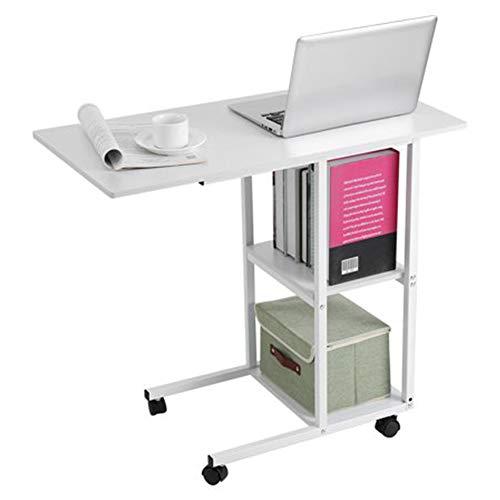 Kleiner Schreibtisch, Home Office Tragbares Mobiles über Bett Tisch Sofa Couch Rolling Wheel Laptop Computer Schreibtisch