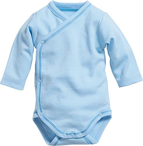 Playshoes GmbH Playshoes Baby-Jungen Wickelbody basic Body, bleu, 44