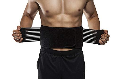 Mixen New Arrival Weight Loss Slimming Wrap Belt Spine Support Waist Belt Pain Relief Belt Lumbar Copper Fit Back Pro (COPPER)