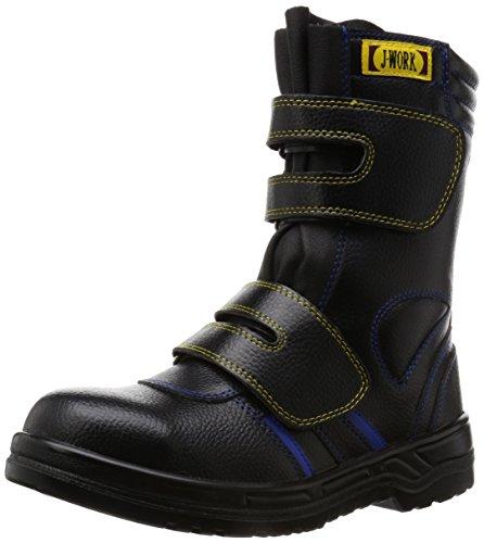 [オタフクテブクロ] 作業靴 安全シューズ静電半長靴 MG 黒 30 cm 4E