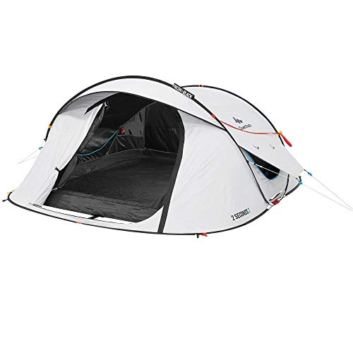 Quechua by Decathlon 2 Second Fresh & Black 3-Person Camping Tent