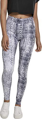 Urban Classics Damen Animal Print Leggings, Farbe Snake, Größe: M