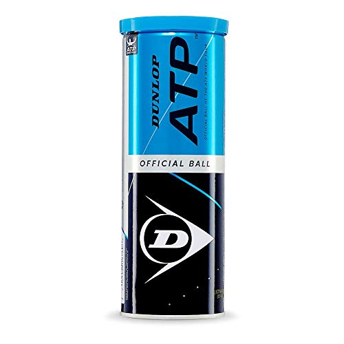 Dunlop ATP - Juego de 3 Pelotas de Tenis