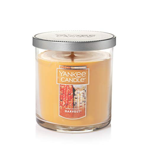 Yankee Candle Small Tumbler Jar Harvest Scented Premium Paraffin Grade Candle Wax with up to 55 Hour Burn Time