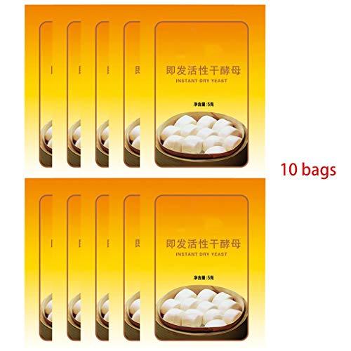 Keahup-Brothefe, aktive Trockenhefe mit hoher Glukosetoleranz Küchenbackzubehör 5G*10 Beutel