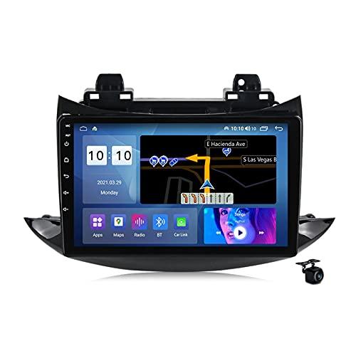 Android 10.0 Radio estéreo para coche Chevrolet Trax 2017-2020 Navegación GPS 9 pulgadas Pantalla táctil 2 Din Head Unit MP5 reproductor multimedia video receptor FM con SIM WIFI DSP Carplay, M100S
