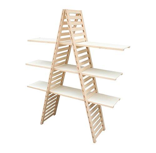 Pine Wood Shelf Unit