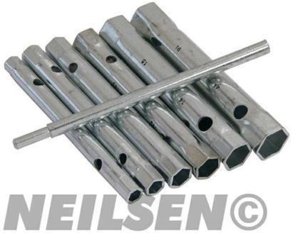 Neilsen, set di chiavi a bussola tubolare CT3358 6, 17 mm