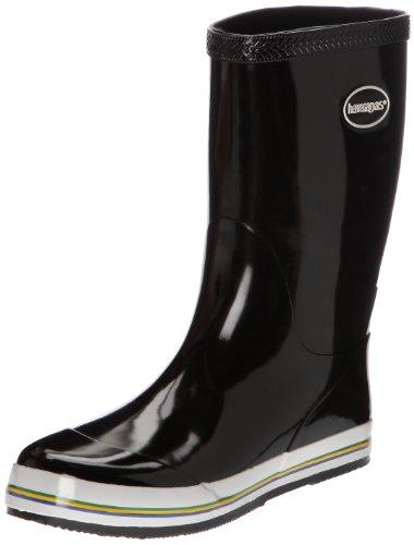 Havaianas Aqua Rain Boots, Botas de Goma Mujer, Negro (Black), 35 EU