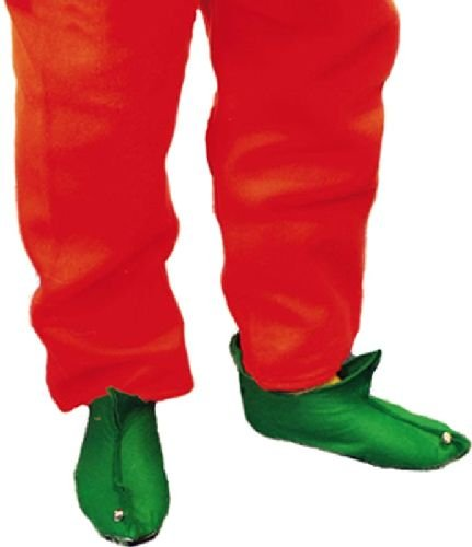 Smiffys Bottes d'elfe, Vert