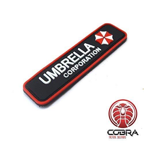 Cobra 3D PVC Patch Umbrella Corporation Logo - Resident Evil mit Klettverschluss