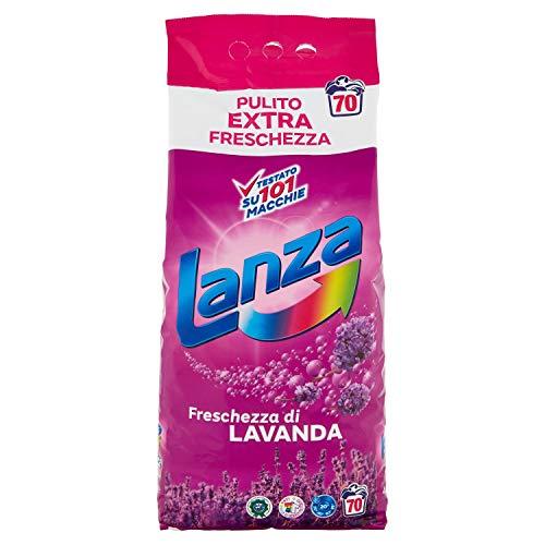 Lanza Lavanda Detersivo Polvere per Lavatrice - 4375 gr - 70 Misurini