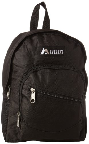 Everest Junior Slant Backpack, Black, One Size