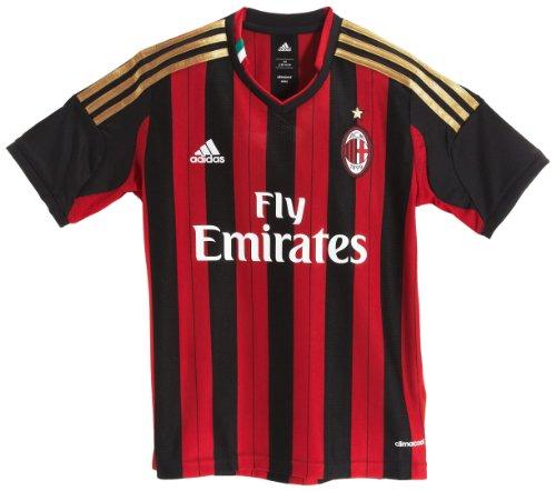 Adidas AC Milan Home Jersey met korte mouwen voor kinderen