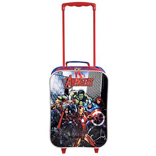 Marvel Avengers Trolley Soft Side Luggage Case for Kids - 16 Inch