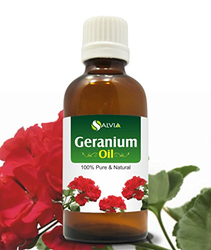 Best Prices! Geranium Oil 100% Natural Pure UNDILUTED Uncut Essential Oil (50ml)