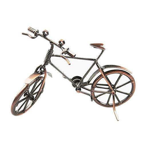 Hancoc Galvanik Retro Fahrrad Modell Home Wohnzimmer Studie Büro Dekoration Eisen Handwerk Besondere Kreative Geschenk Souvenirs