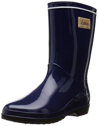 [アキレス] レインブーツ 長靴 作業靴 レインシューズ 日本製 E レディース OLB 0330 ネービー 23.5