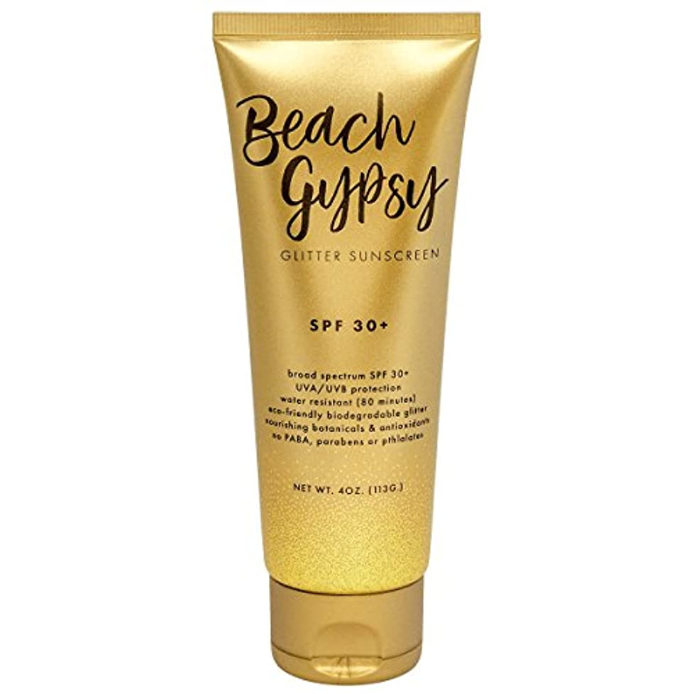 Beach Gypsy SPF 30+ with Gold Glitter, 4 oz. tpzcjq046149537