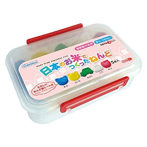 デビカ『日本のお米でつくったねんど5色』