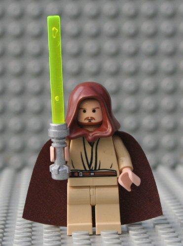 LEGO Star Wars–Figur qui-gon Jinn mit Laserschwert (des Spiels 7665)