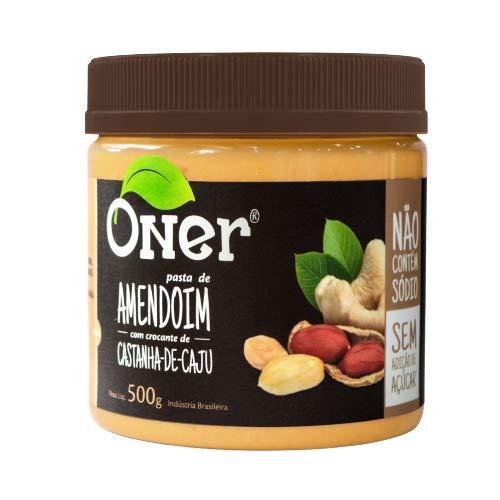 Pasta de Amendoim com Crocante de Cajú Oner
