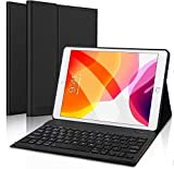 Robustrion Smart PU Leather Folio Case Cover with Wireless Bluetooth Keyboard for iPad