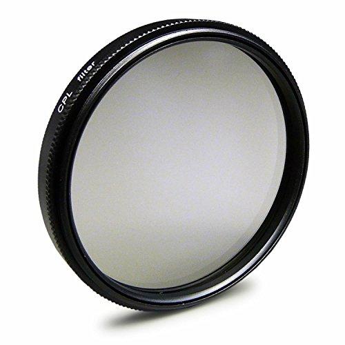Filtro Polarizador CPL 52mm Compatible con Nikon D3000, D3300, D5000, D5200, Canon EOS M, Panasonic Lumix DMC-G2, DMC-G3, DMC-G5 + paño de Limpieza