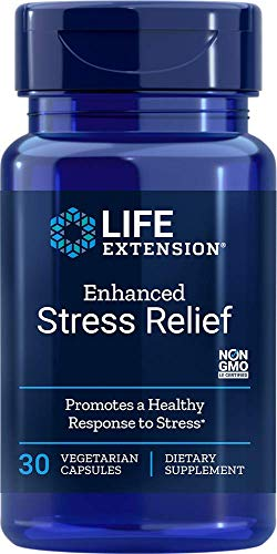 Life Extension Enhanced Stress Relief, 30 Veg Caps (Pack of 2)