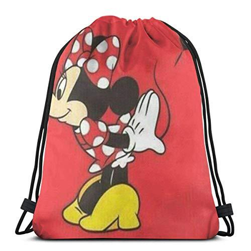 xinping Bolsa clásica con cordón, mochila de gimnasio, bolsa de almacenamiento para hombre y mujer