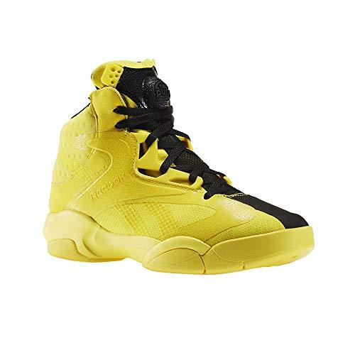 Reebok Shaq Attaq Modern Men's Basketball Shoes Yellow Spark/Black bd4602 (9 D(M) US)