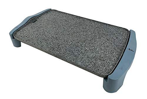 Jata GR600AM Grillplatte, 2500 W, Granit, Grau/Blau