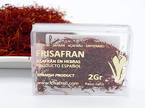 FRISAFRAN - Zafferano in pistilli / scatola di metacrilato (2Gr)