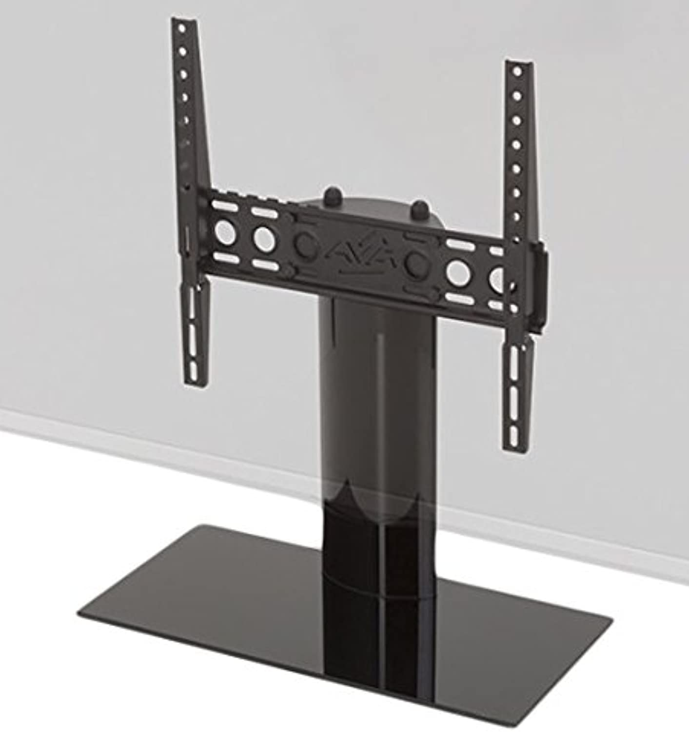 AVF B400BB-A Universal Table Top TV Stand TV Base - Fixed Position - Fits Most 37 to 55-Inch TVs - Black