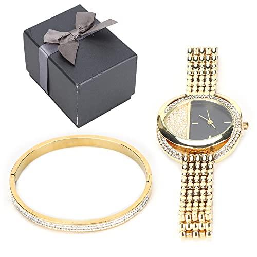 SALUTUY Montre de Bracelet de Bijoux, Ensemble de Bijoux de...