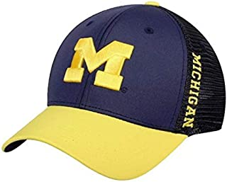 Tow NCAA Michigan Wolverines Chatter One Fit Two Tone Hat