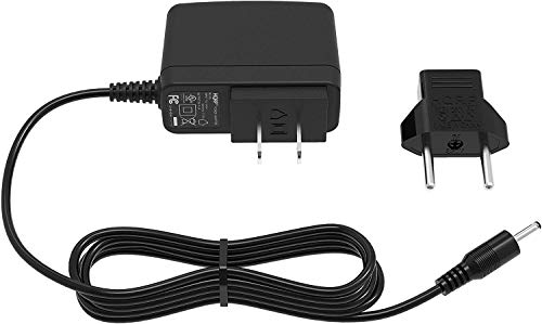 """HQRP AC Adapter Charger for iRulu 10.1"""" Android 4.0 Tablet PC Vimicro VC0882 4GB 512 MB, Wopad i7 / i8 / 10"""" V10 Cortex A8 Android 2.3 Tablet PC, Power Supply Cord + Euro Plug Adapter"""