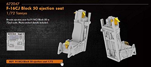 Eduard Brassin 1:72 - F-16CJ Block 50 Ejection Seat (Tamiya)