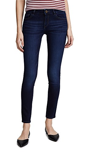 DL1961 Womens Emma Instasculpt Low Rise Skinny Fit Jeans, Albany, 27